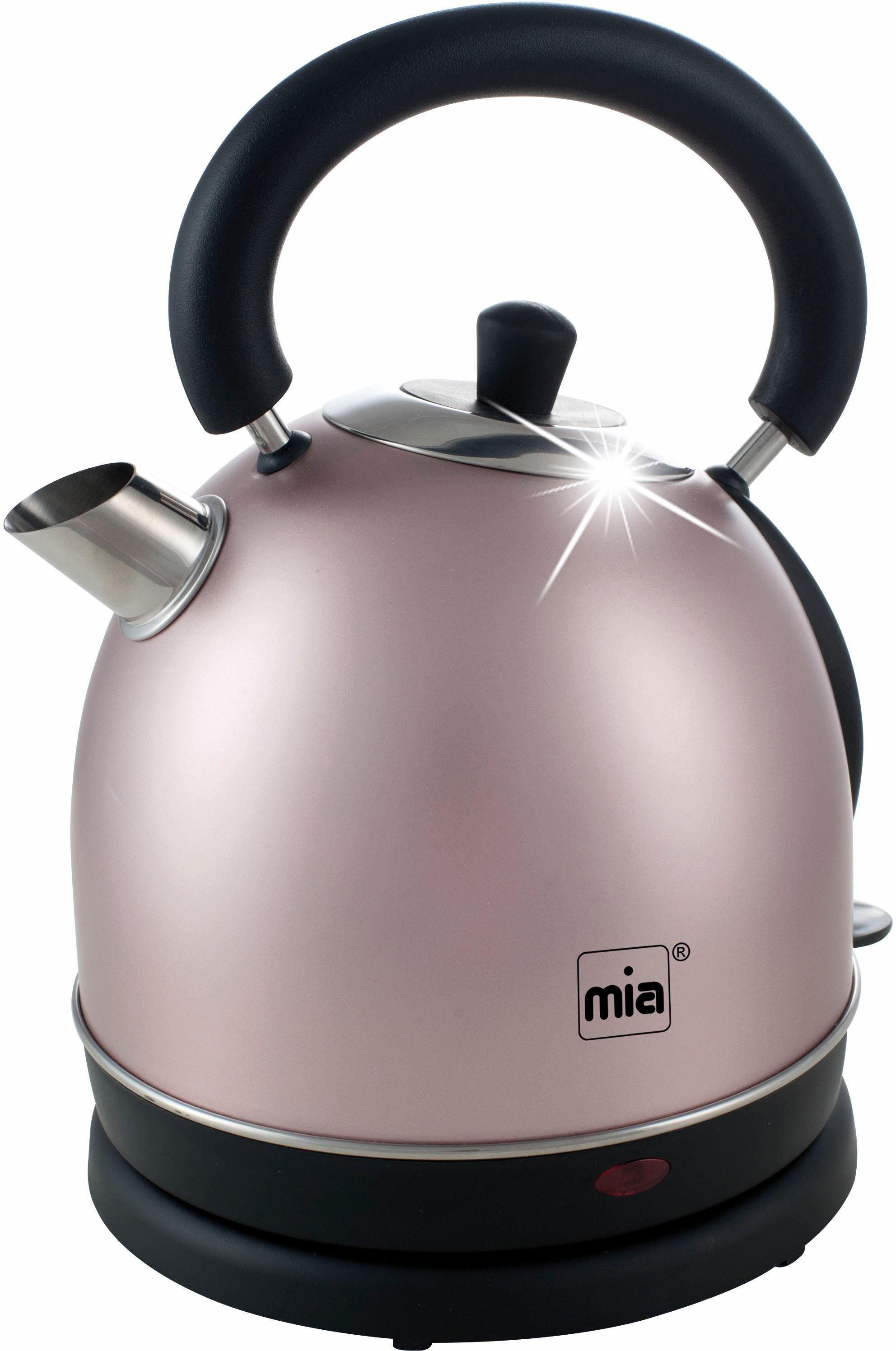MIA Wasserkocher EW3686RG, 1,8 l, 2200 W