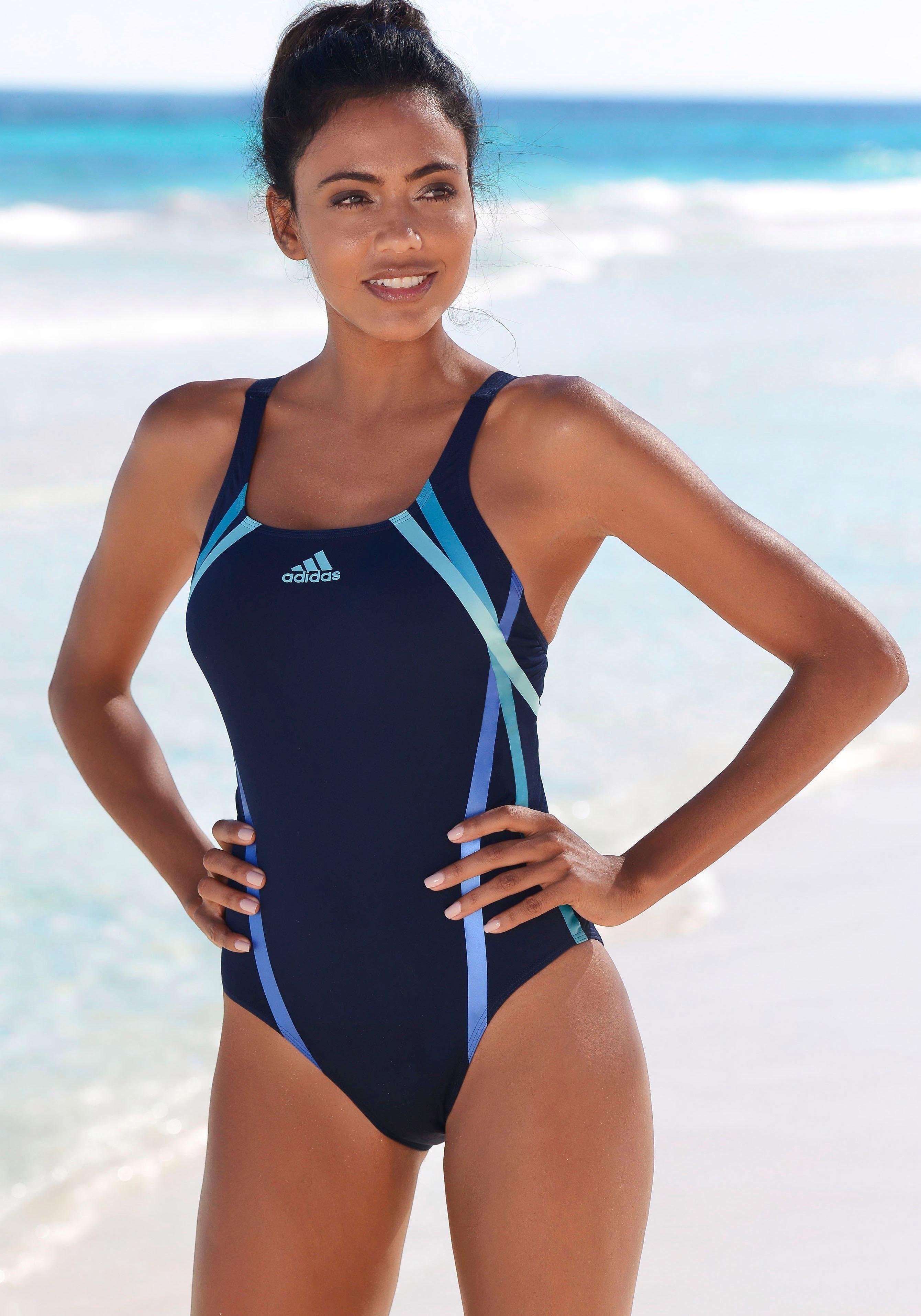 adidas Performance Badeanzug, mit sportlichem Streifenprint online kaufen | OTTO