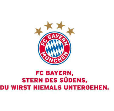 Wall-Art Wandtattoo »FC Bayern München Vereinshymne« (1 Stück)
