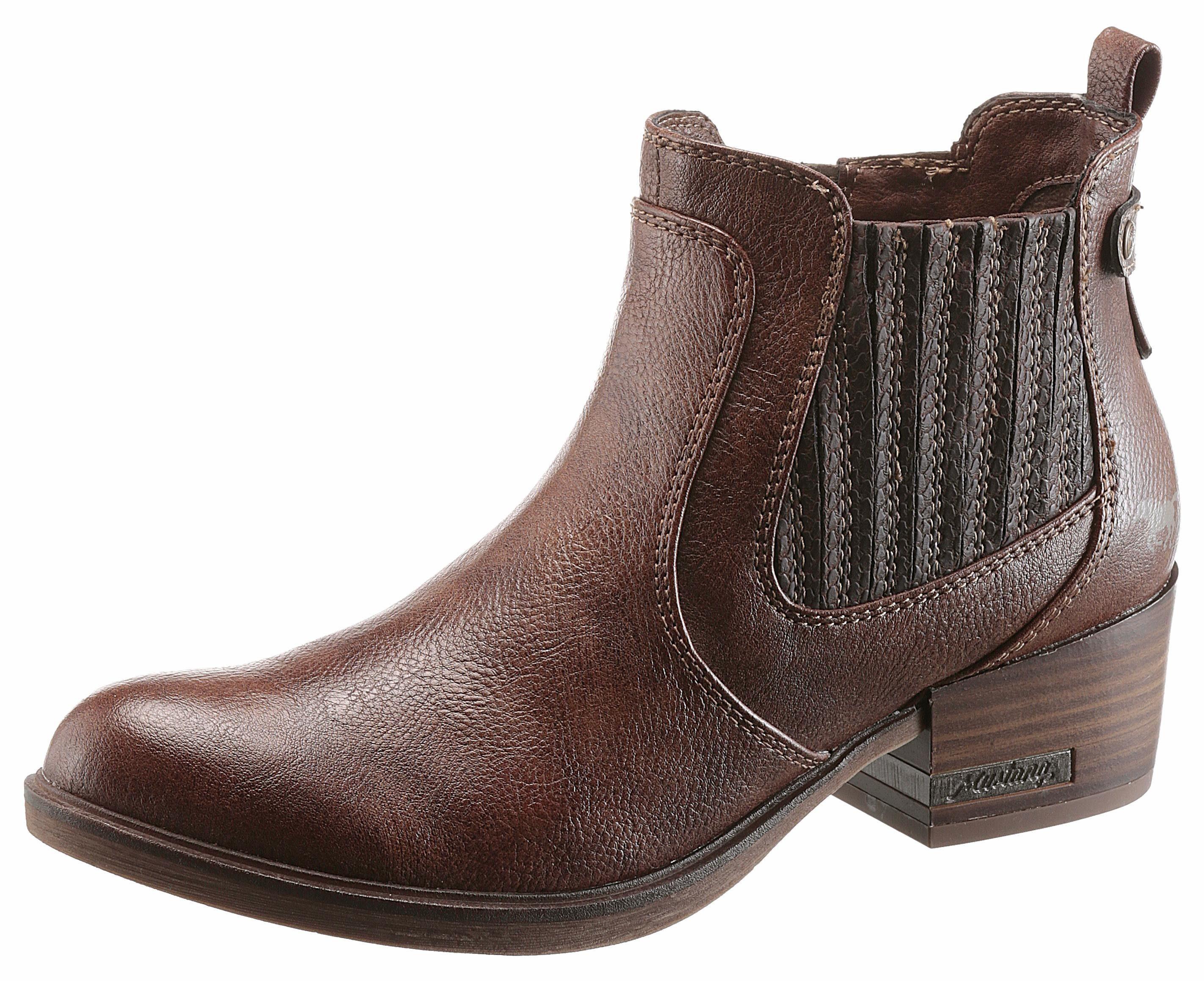 Mustang Shoes Schnürstiefelette, braun, 39 39