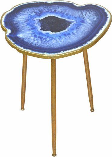 home affaire beistelltisch achatscheiben optik otto. Black Bedroom Furniture Sets. Home Design Ideas