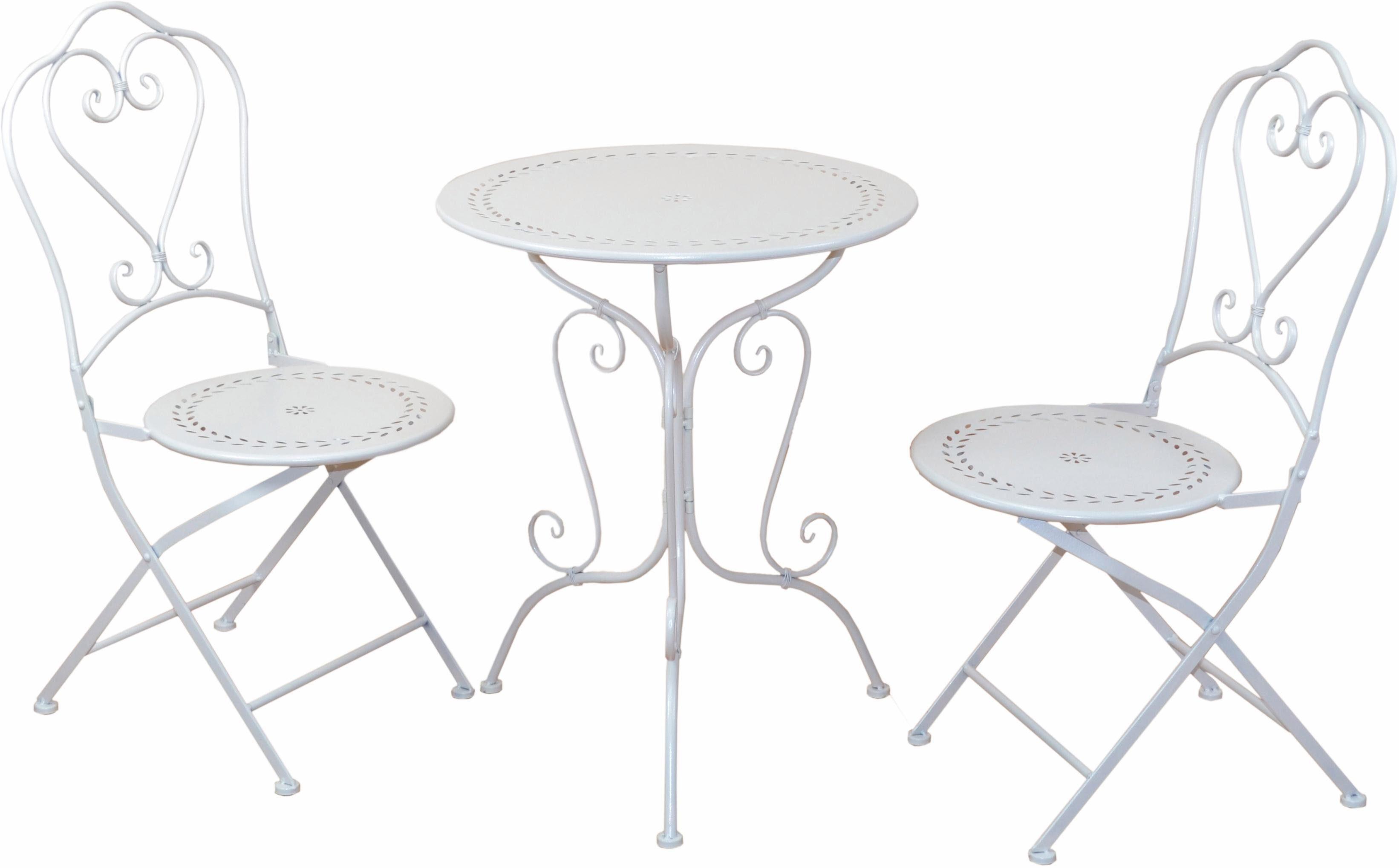 Home affaire Metall-Tischgruppe, 3-teiliges Set