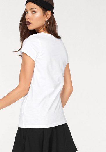 AJC T-Shirt, mit coolem Fledermaus-Druck vorne