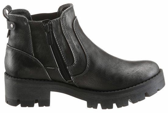 Mustang Shoes Chelseaboots, mit Stretcheinsatz