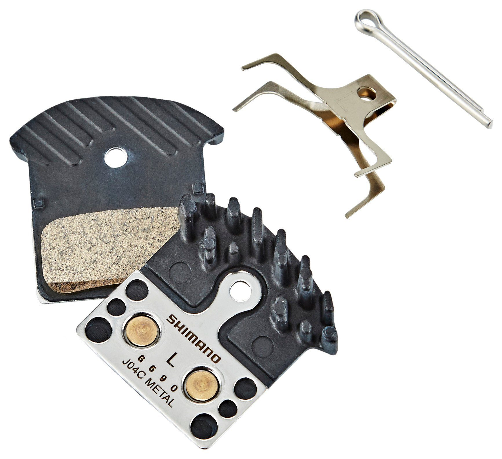 Shimano Bremsbelag »J04C Ice-Tech Scheibenbremsbelag Metall«
