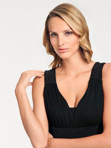 Ashley Brooke Par Heine Robe De Soirée Perles Décoratives