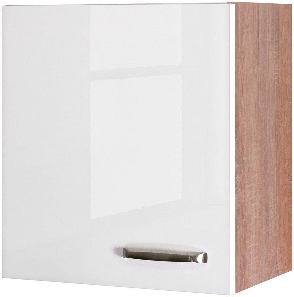 Küchenhängeschrank »Florenz, Breite 50 cm« | Küche und Esszimmer > Küchenschränke > Küchen-Hängeschränke | Weiß | Flex-Well