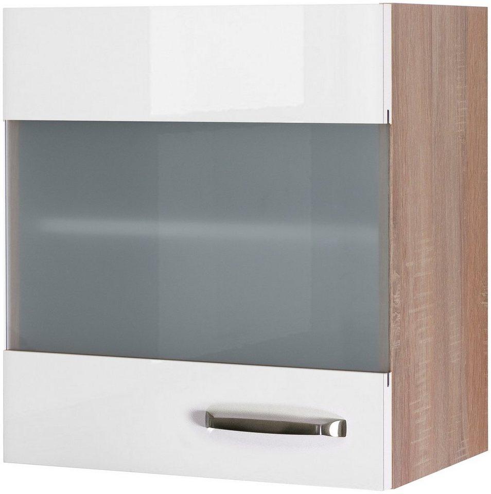 Küchenhängeschrank »Florenz, Breite 50 cm«   Küche und Esszimmer > Küchenschränke > Küchen-Hängeschränke   Weiß   Flex-Well
