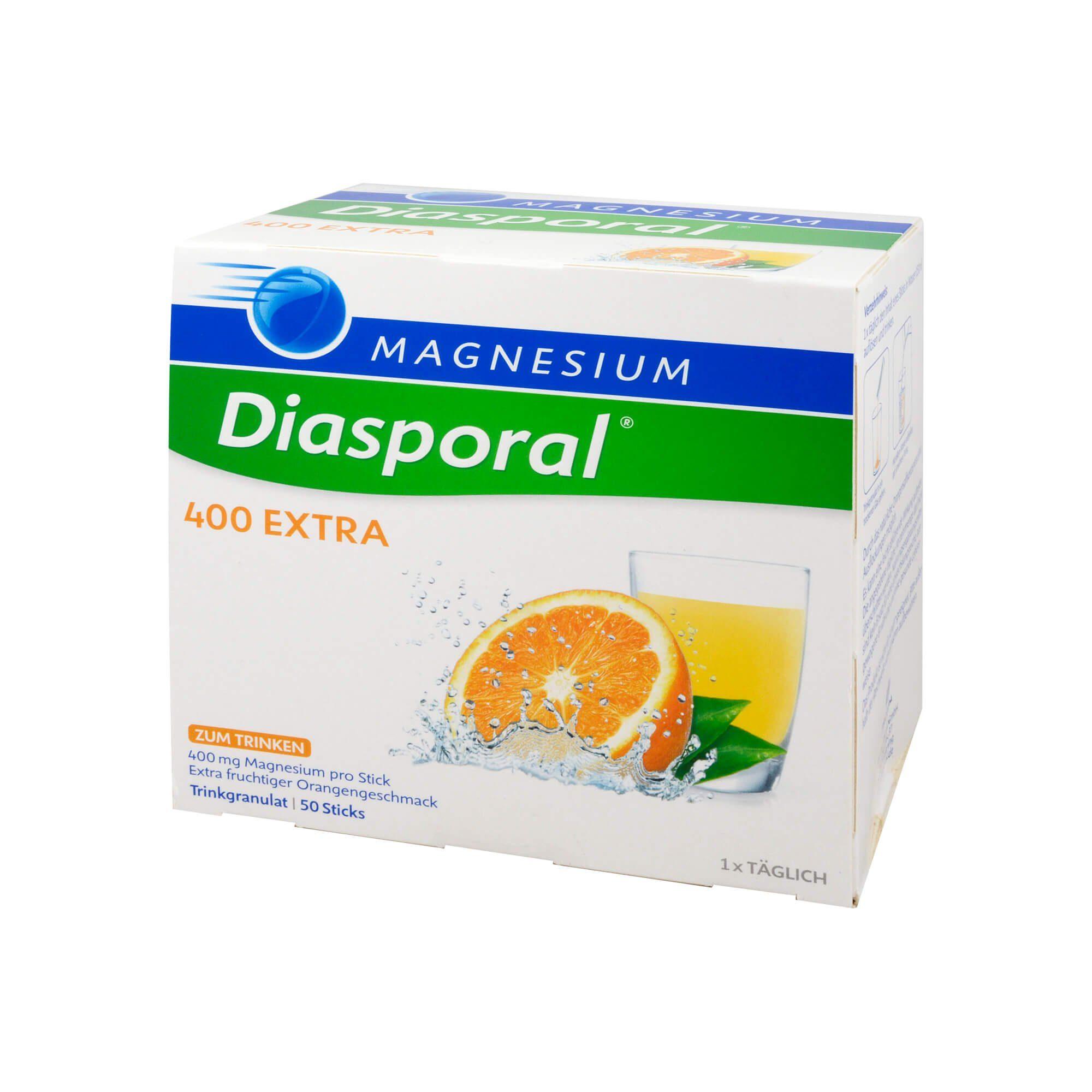 Diasporal Magnesium Diasporal 400 Extra , 50 St