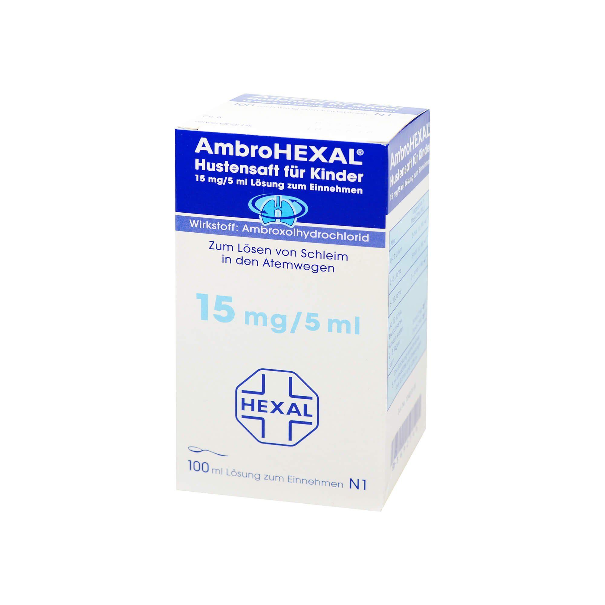 AmbroHEXAL Hustensaft Kinder , 100 ml