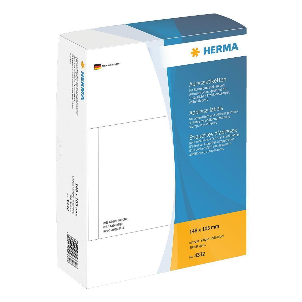 Herma 500er-Pack Adressetiketten »4332«