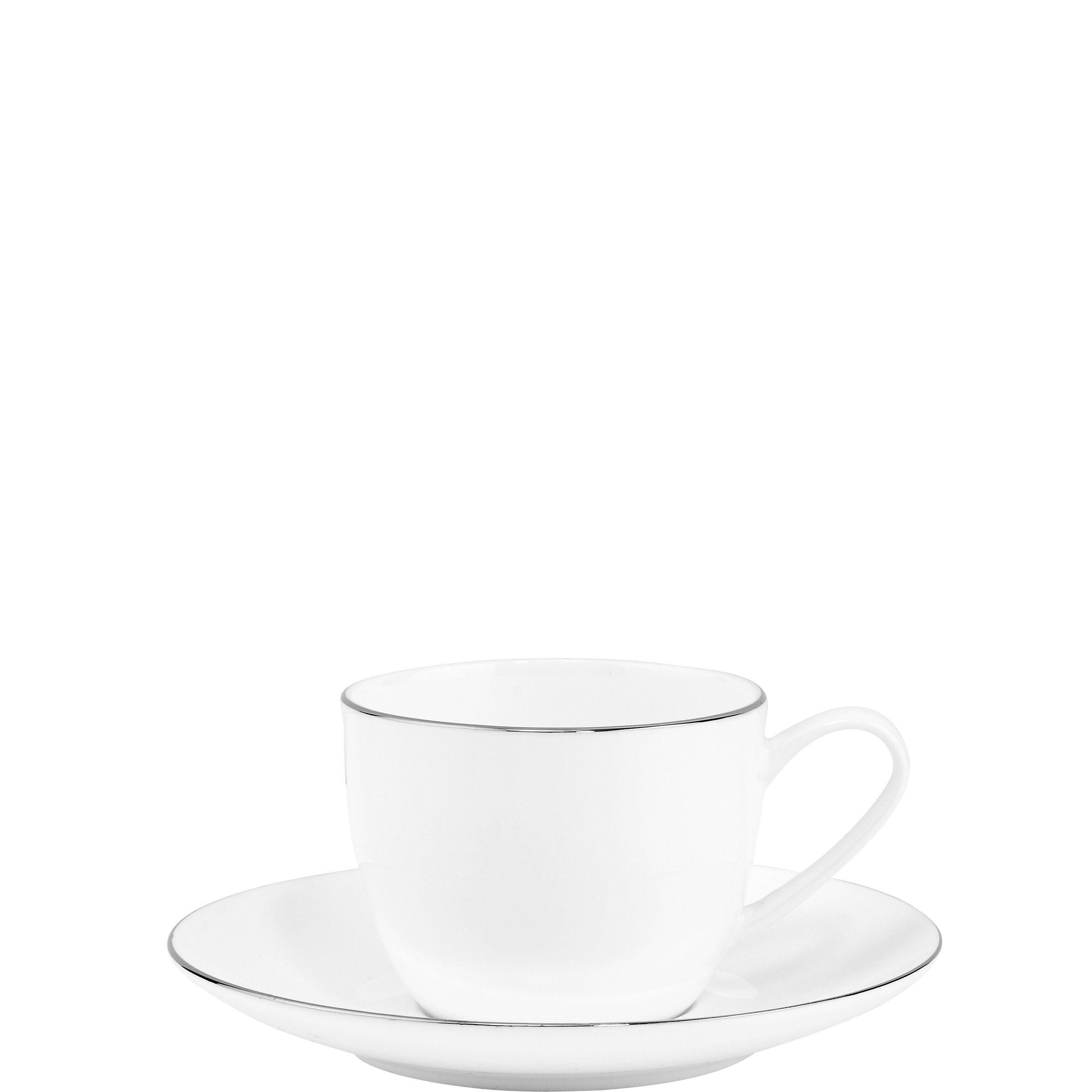 BUTLERS SILVER LINING »Espressotasse mit Untersetzer«