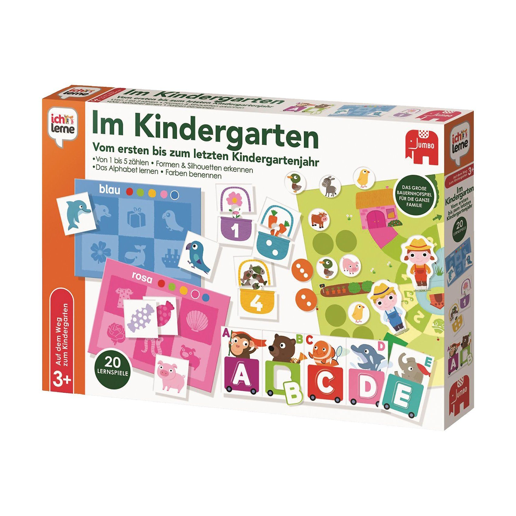 Jumbo Ich lerne - Im Kindergarten