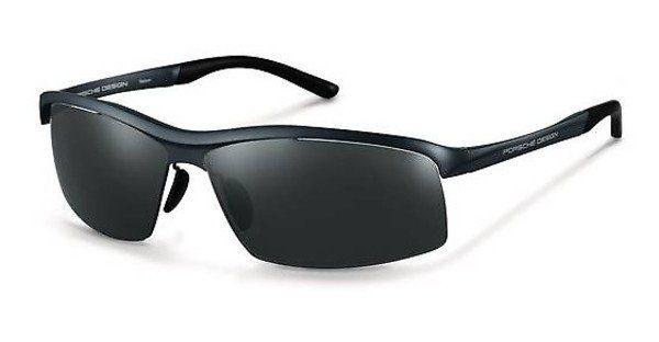 PORSCHE Design Porsche Design Herren Sonnenbrille » P8494«, schwarz, A - schwarz/ blau