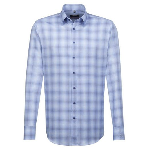 seidensticker Businesshemd Modern, Button-Down-Kragen
