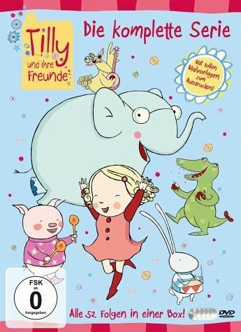 DVD »Tilly und ihre Freunde - Die komplette Serie...«