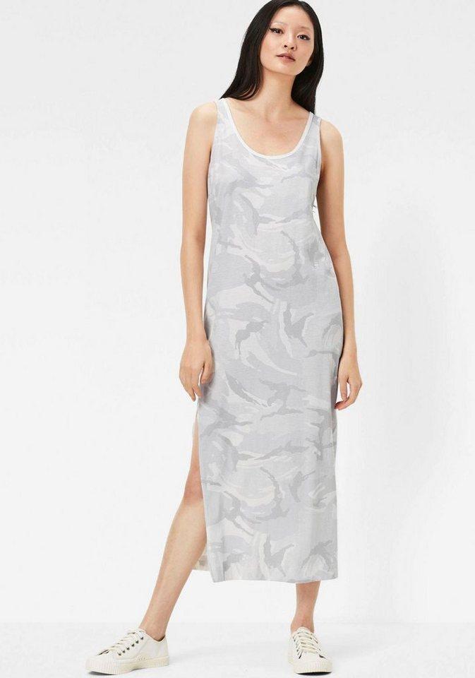 g star jerseykleid lyker tanktop dress mit seitenschlitz online kaufen otto. Black Bedroom Furniture Sets. Home Design Ideas