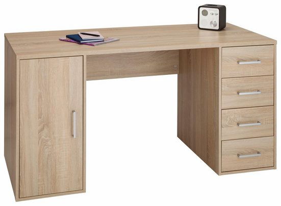 Maja Möbel Schreibtisch »Alex«, mit 4 Schubkästen und 1 Tür