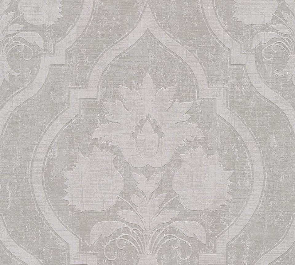 vliestapete livingwalls florale barock memory 3 online kaufen otto. Black Bedroom Furniture Sets. Home Design Ideas