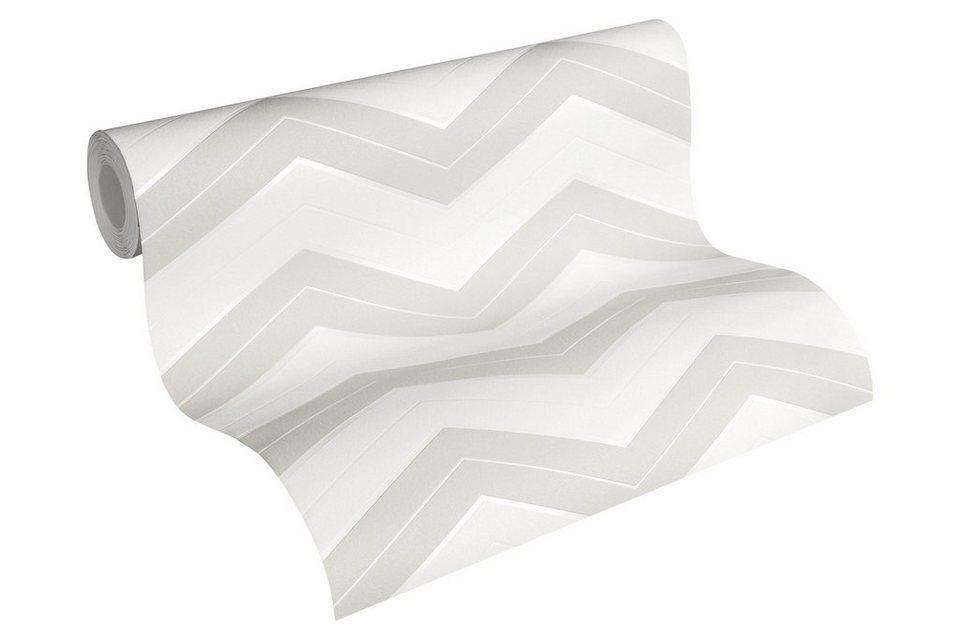 Vliestapete, »geometrisch skandinavische Tapete Designdschungel by ...