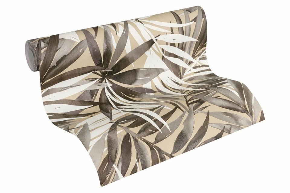 Vliestapete, »Tapete mit Palmenprint Designdschungel by Laura N ...