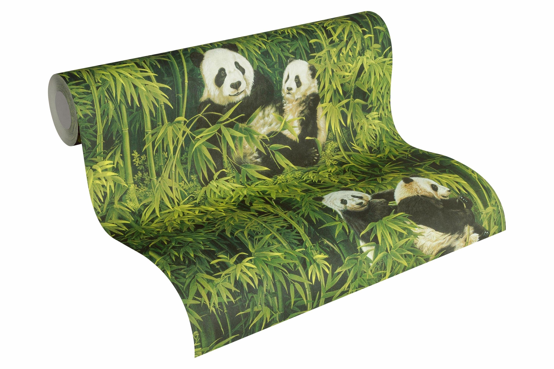 Schaumtapete, Livingwalls, »asiatische Tapete im Bambusdesign Simply Decor«