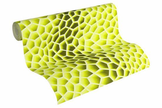 Vliestapete »Harmony in Motion by MacStopa«, matt, glänzend, geometrisch, futuristisch, FSC®