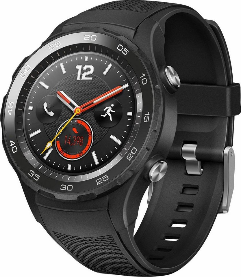 Huawei Watch 2 LTE Smartwatch, Android Wear 2.0™, 3,05 cm ...