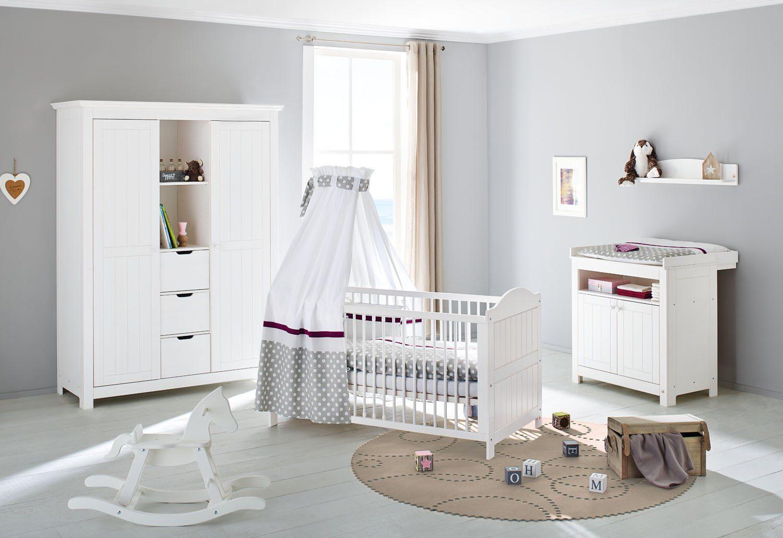 pinolino babyzimmer set (3-tlg) kinderzimmer »nina« groß online