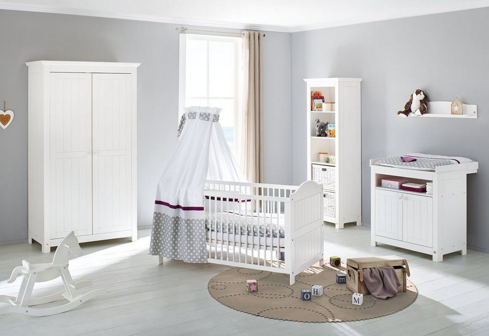 pinolino babyzimmer set 3 tlg kinderzimmer nina online. Black Bedroom Furniture Sets. Home Design Ideas