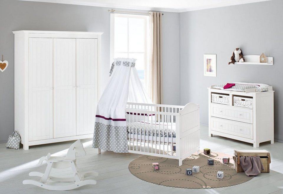 Pinolino babyzimmer set 3 tlg kinderzimmer nina breit - Otto babyzimmer ...