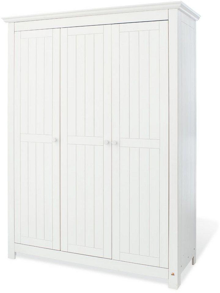 pinolino kleiderschrank nina gro mit 3 t ren otto. Black Bedroom Furniture Sets. Home Design Ideas