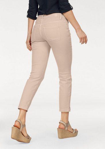 MAC Slim-fit-Jeans »Dream Summer Chic« Verkürzte Form mit Reißverschluss