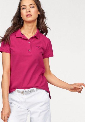 Gant Poloshirt, mit kleiner Logo-Stickerei auf der Brust