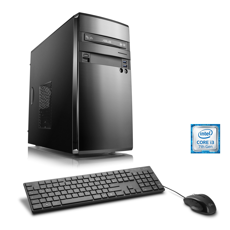 CSL Multimedia PC   Intel Core i3-7100   Intel HD 630   8 GB DDR4 »Speed T5952 Windows 10 Home«