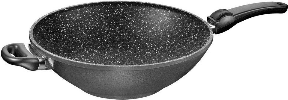 stoneline wok aluminiumguss induktion 32 cm otto. Black Bedroom Furniture Sets. Home Design Ideas