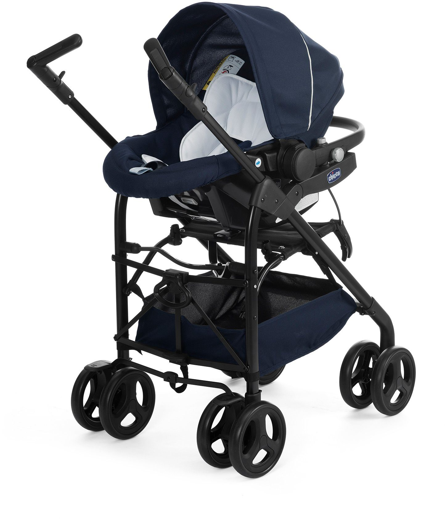Chicco® Kombi Kinderwagen, »Trio-System Sprint, blue passion«