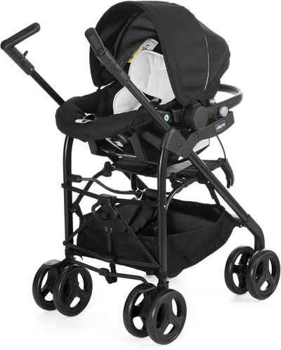 Chicco Kombi-Kinderwagen »Trio-System Sprint, black night«, mit Regenschutz; Kinderwagen