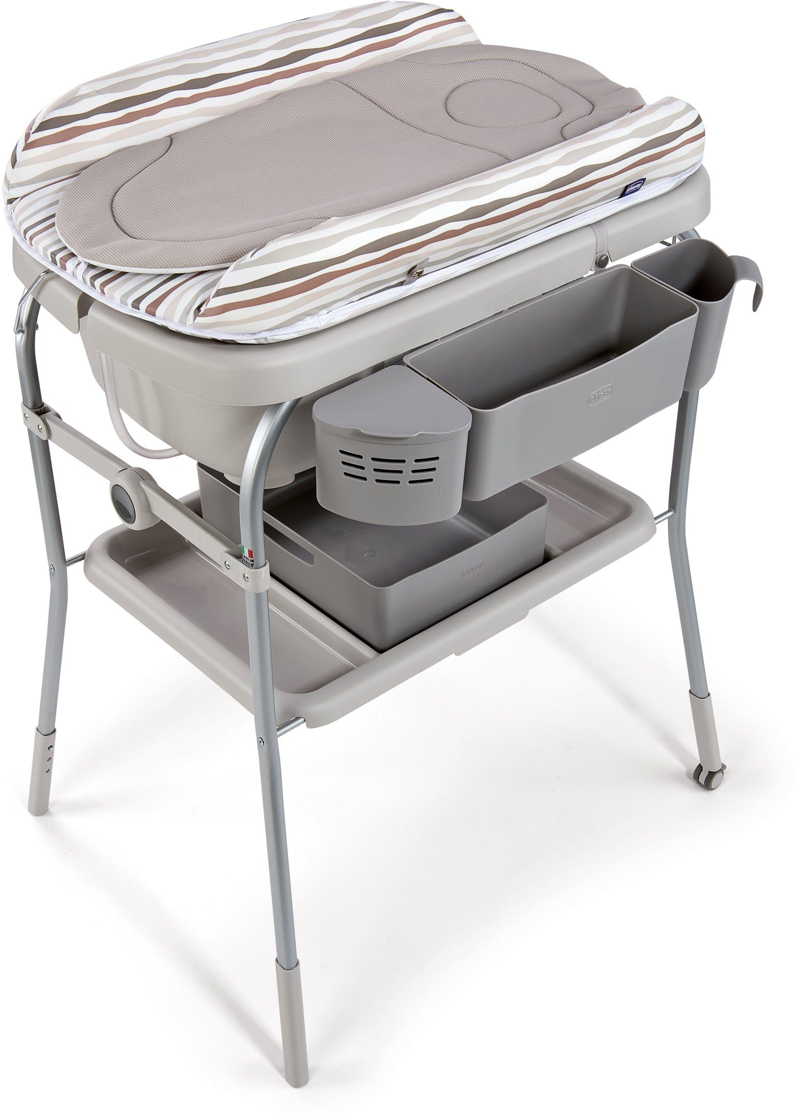 Chicco® Bade- und Wickelkombination, »Cuddle & Bubble, silver«