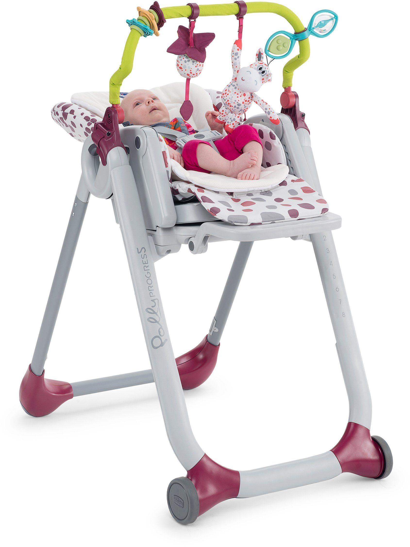 Chicco® Set Spielbogen + Sitzverkleinerer für Hochstuhl Polly Progres5, »Kit«