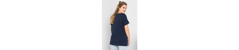 sheego Casual T-Shirt, mit Frontdruck