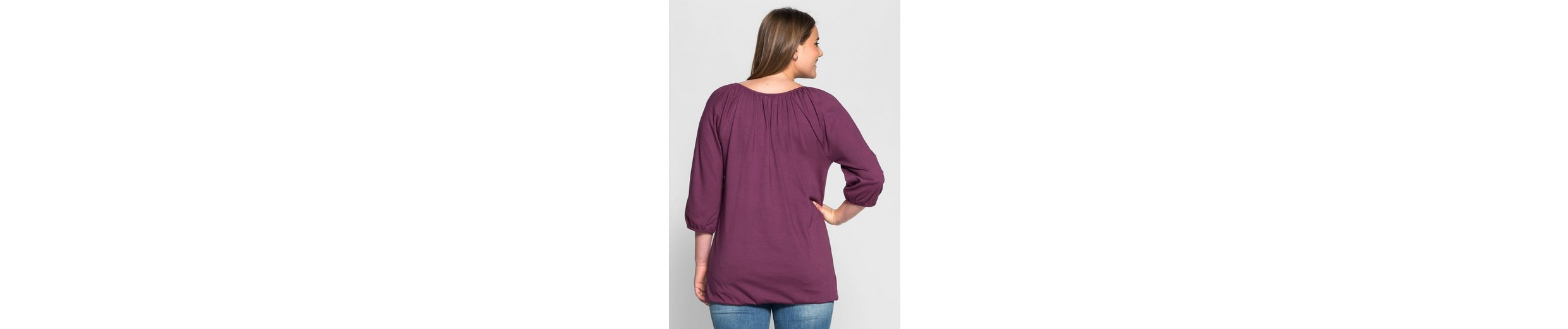 sheego Casual 3/4-Arm-Shirt, ;