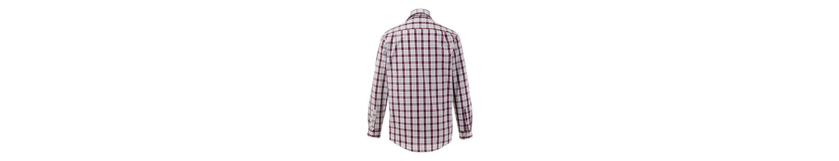 Almsach Trachtenhemd im Karodesign Günstig Kaufen Finish f5iWhhKR