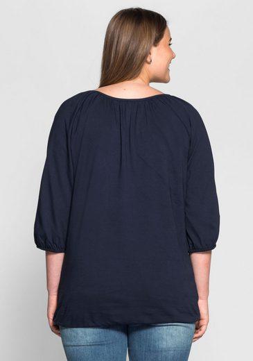 Sheego Casual 3/4-arm-shirt, ;