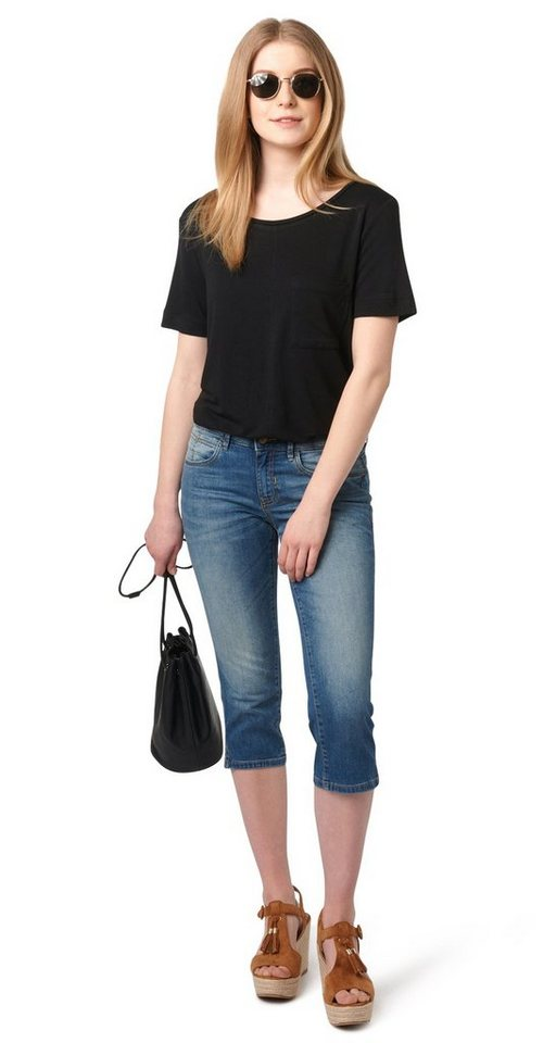 tom tailor jeans alexa slim capri online kaufen otto. Black Bedroom Furniture Sets. Home Design Ideas