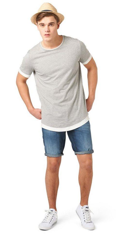 tom tailor denim shorts atwood regular bermuda otto. Black Bedroom Furniture Sets. Home Design Ideas