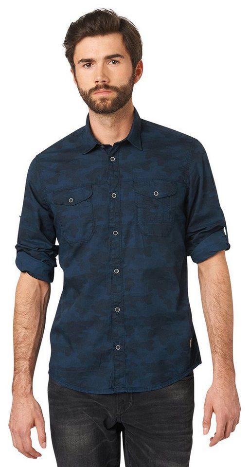 tom tailor hemd hemd im military look kaufen otto. Black Bedroom Furniture Sets. Home Design Ideas