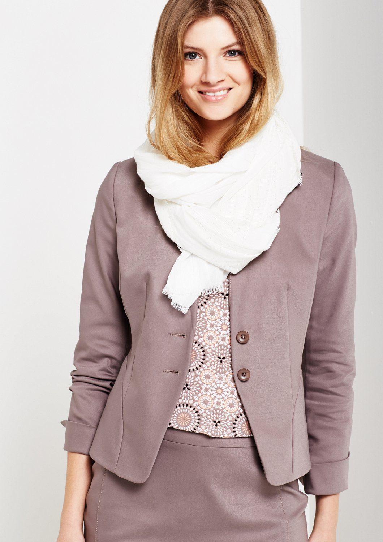 COMMA Extravaganter Schal mit glitzerndem Paillettenbesatz