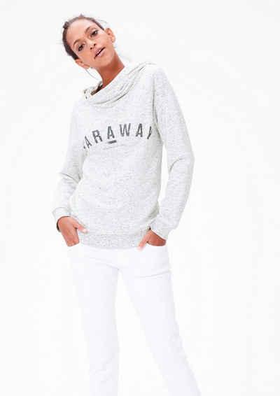 s.Oliver RED LABEL Sweatshirt mit Double Layer-Kapuze Sale Angebote Drieschnitz-Kahsel