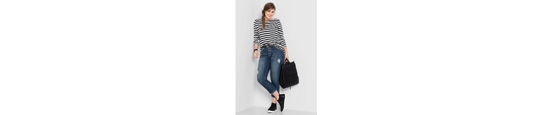 sheego Denim Stretch-Jeans, Jedes Teil ein Unikat
